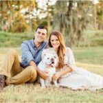 Outdoor Spanish Moss Engagement Session | Houston, TX Photographer