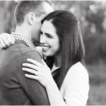 Cozy Outdoor Fall Engagement Session | Katy, TX Engagement Photographer