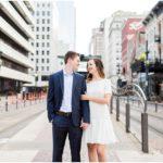 Downtown Engagement Session | Houston, TX Photographer