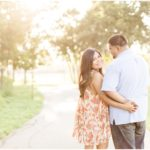 Ana & Everado Sunset Spanish Moss Engagements | Houston, TX Photographer