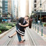 Downtown Houston Engagement | Houston, TX Photographer