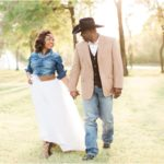 Woodsy Country Chic Anniversary Session | Houston, TX Portrait Photographer