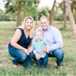 Outdoor Spring Family Portraits | Katy, TX Family Photographer
