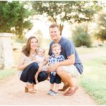 Outdoor Fall Family Portraits | Katy, TX Lifestyle Photographer