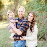 Outdoor Fall Family Portraits | Katy, TX Lifestyle Photographer