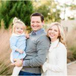 Outdoor Garden Family Portraits | Katy, TX Photographer