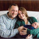 Indoor Lifestyle Newborn Portraits | Katy, TX Newborn Photographer