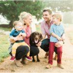 Foggy Sunrise Outdoor Lifestyle Family Portraits | Fulshear, TX Photographer