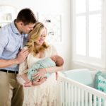 Indoor Whimsical Newborn Portraits | Katy, TX Lifestyle Photographer