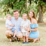 Jones Creek Park Outdoor Family Portraits | Richmond, TX Photographer