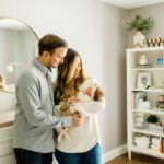 Relaxed In-Home Newborn Session | Katy, TX Photographer