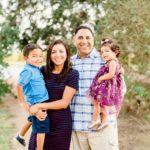 Sunny Fall Outdoor Family Portraits | Katy, TX Photographer