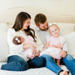 Sweet Lifestyle Newborn Session | Katy, TX Photographer