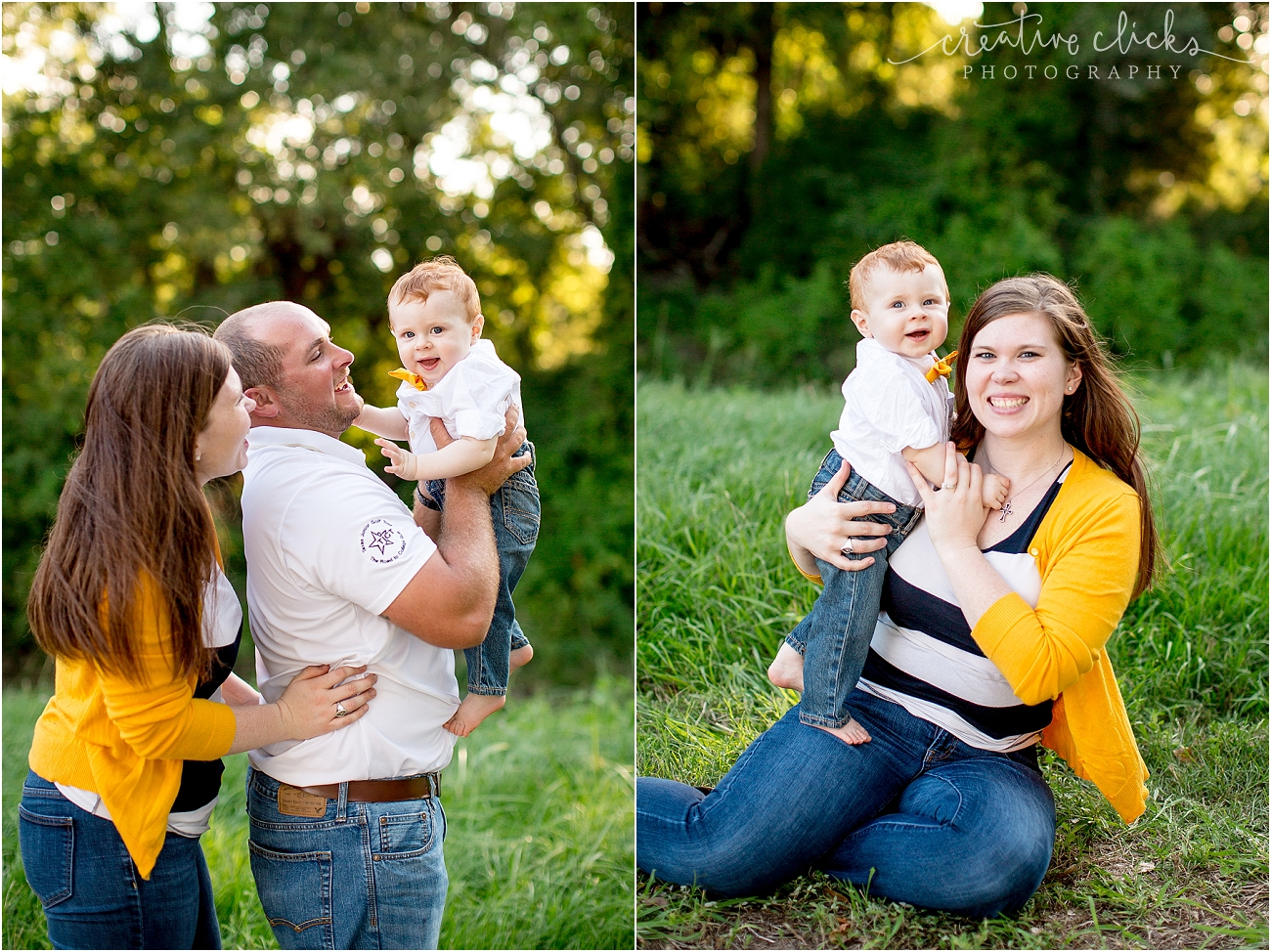 Katy TX Outdoor Family Session