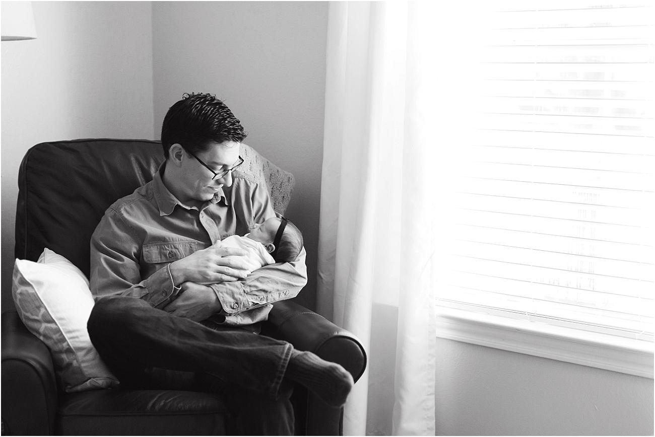 Tomball TX Indoor Lifestyle Newborn Shoot