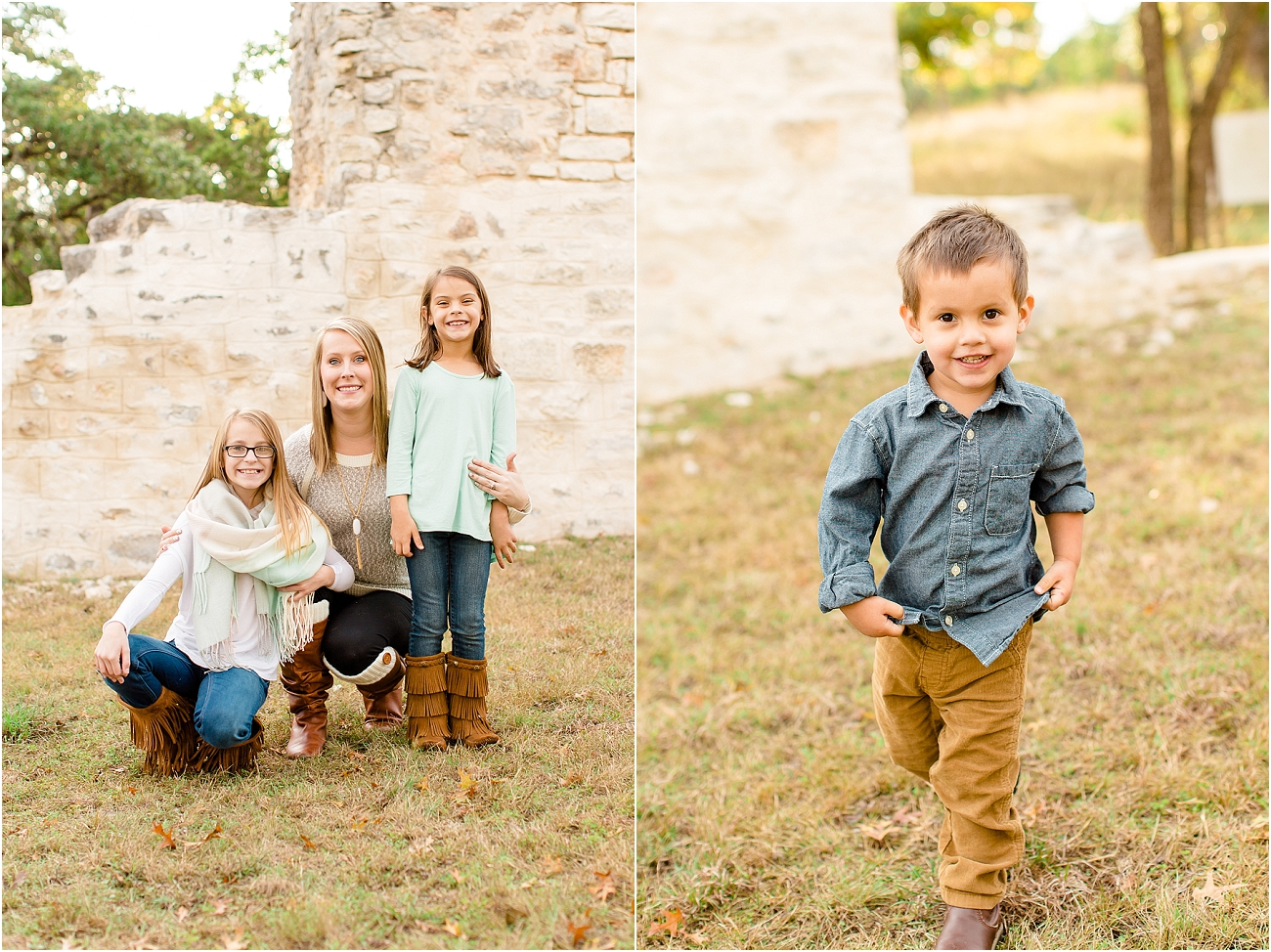 Outdoor Houston Tx Family Photography Portraits