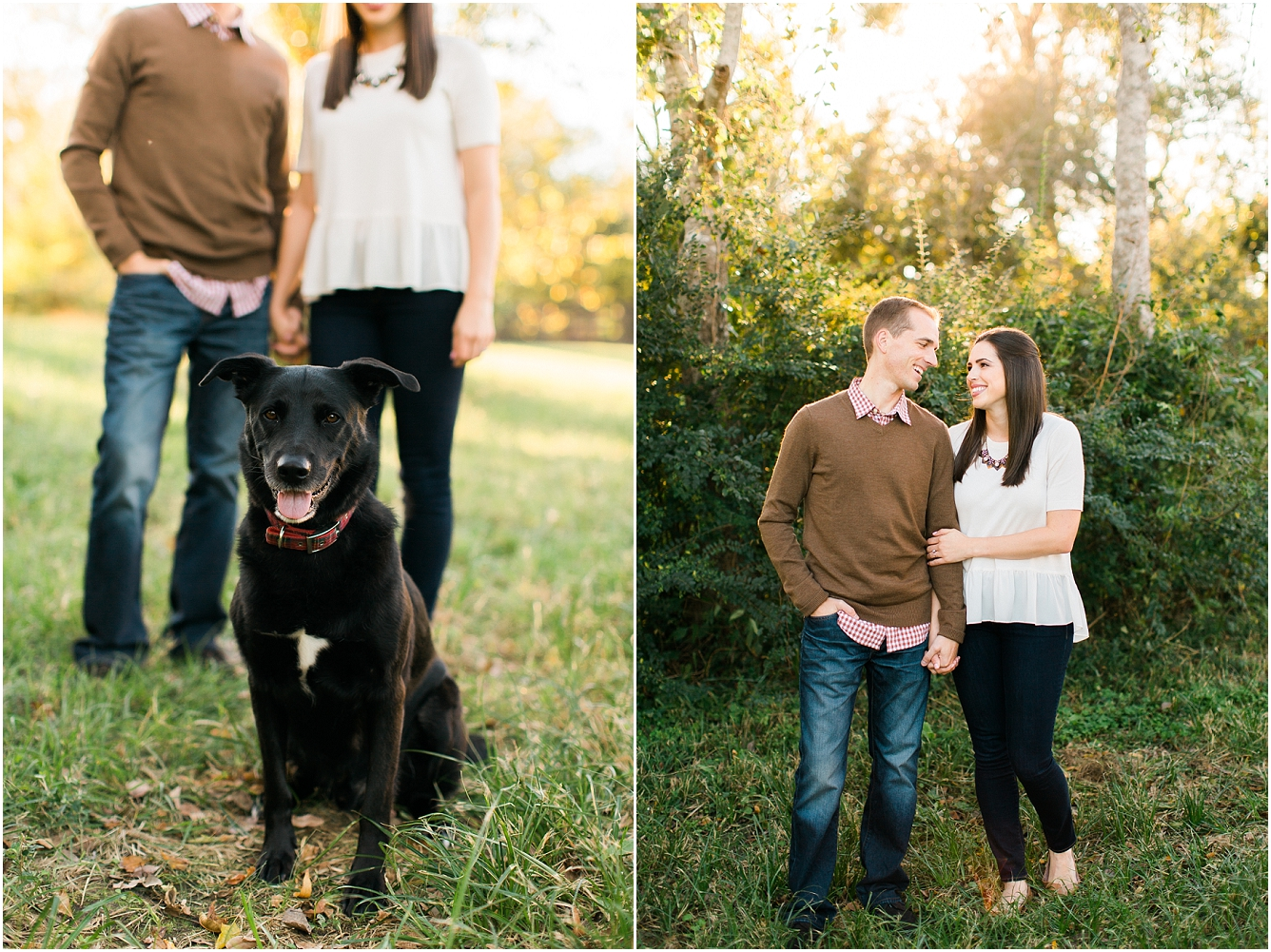Cozy Fall Engagement Photography in Katy, TX_05
