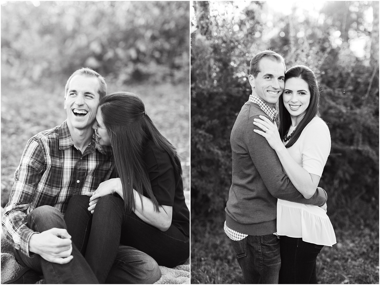 Cozy Fall Engagement Photography in Katy, TX_09