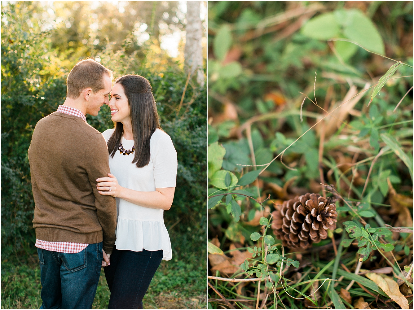 Cozy Fall Engagement Photography in Katy, TX_15