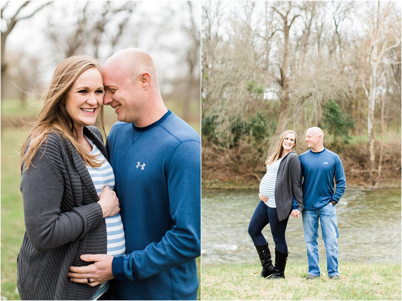 Houston Outdoor Winter Maternity Session_14