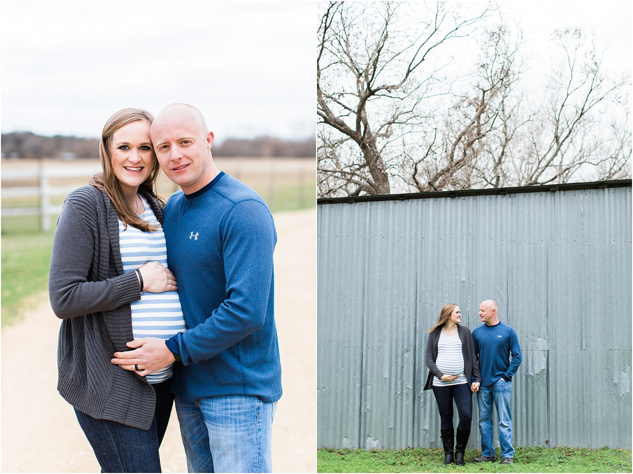 Houston Outdoor Winter Maternity Session_16