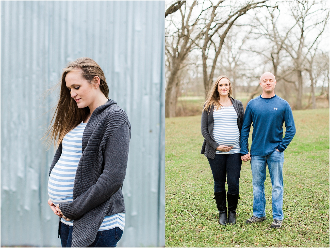 Houston Outdoor Winter Maternity Session_18