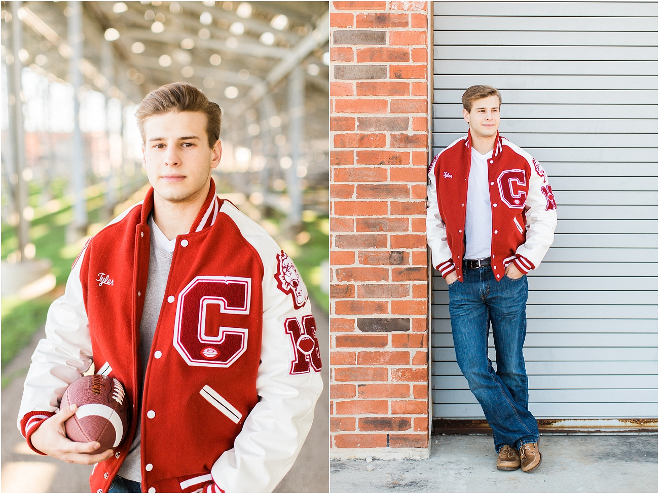 Canyon Cougars Senior Football Session - Houston TX Senior Photography_03