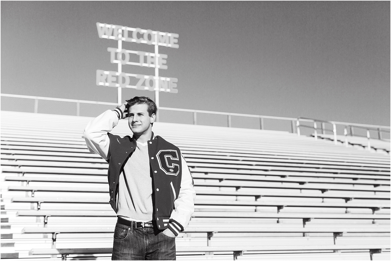 Canyon Cougars Senior Football Session - Houston TX Senior Photography_10