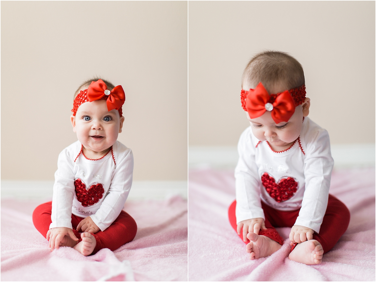 Baby Valentine Portraits Houston TX Photographer_2