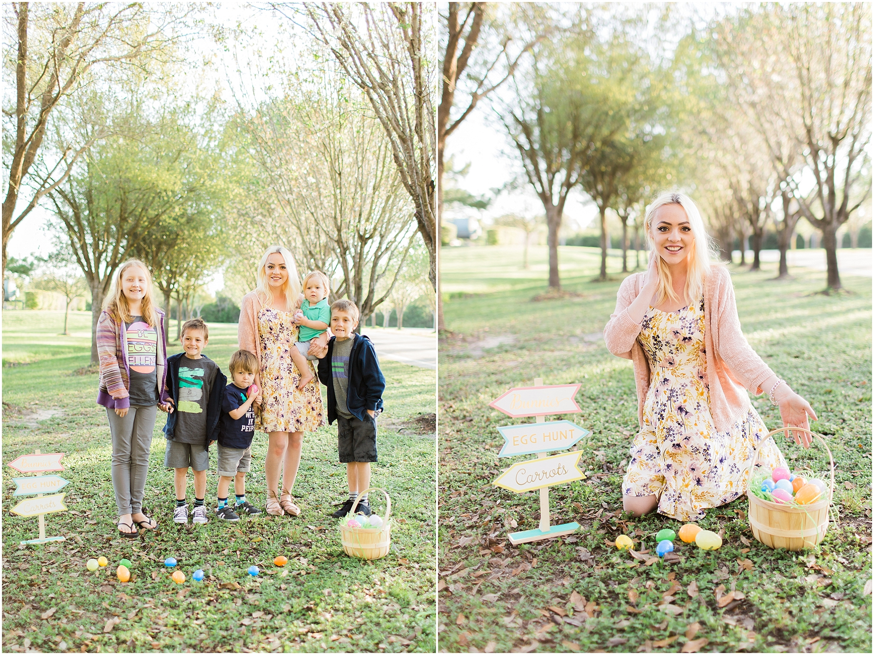 Katy TX Easter Mini Session Family Photographer_10