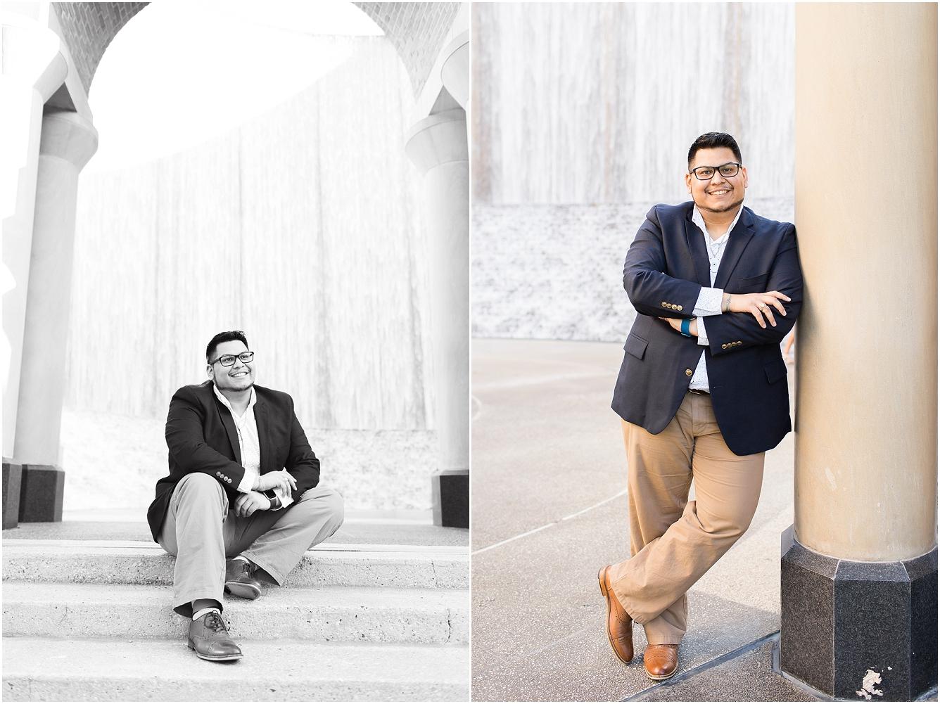 Houston Waterwall Senior Photography_07