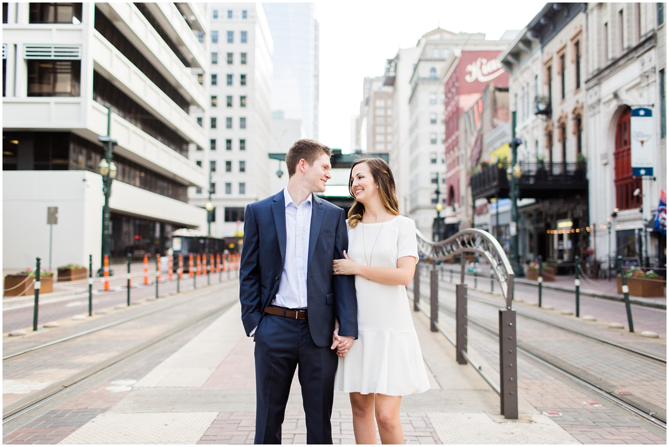 Downtown Houston Engagement Session_01