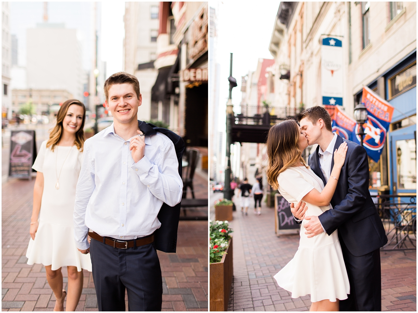 Downtown Houston Engagement Session_10