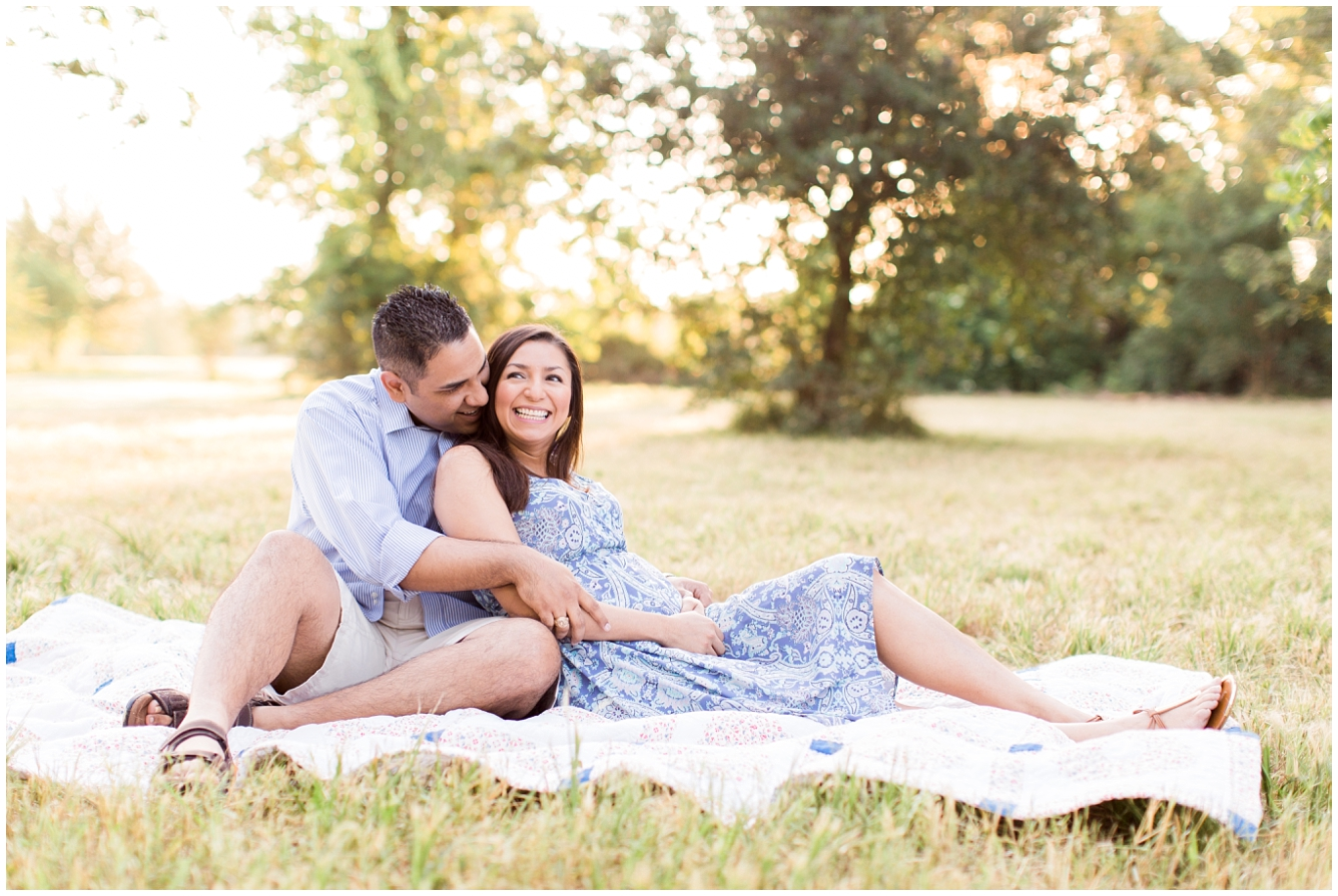 Katy TX Outdoor Maternity Session_05