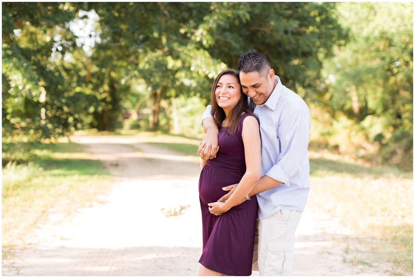 Katy TX Outdoor Maternity Session_08