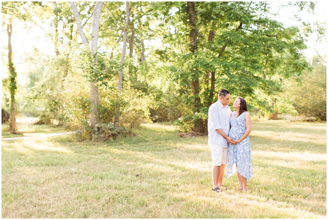 Katy TX Outdoor Maternity Session_10
