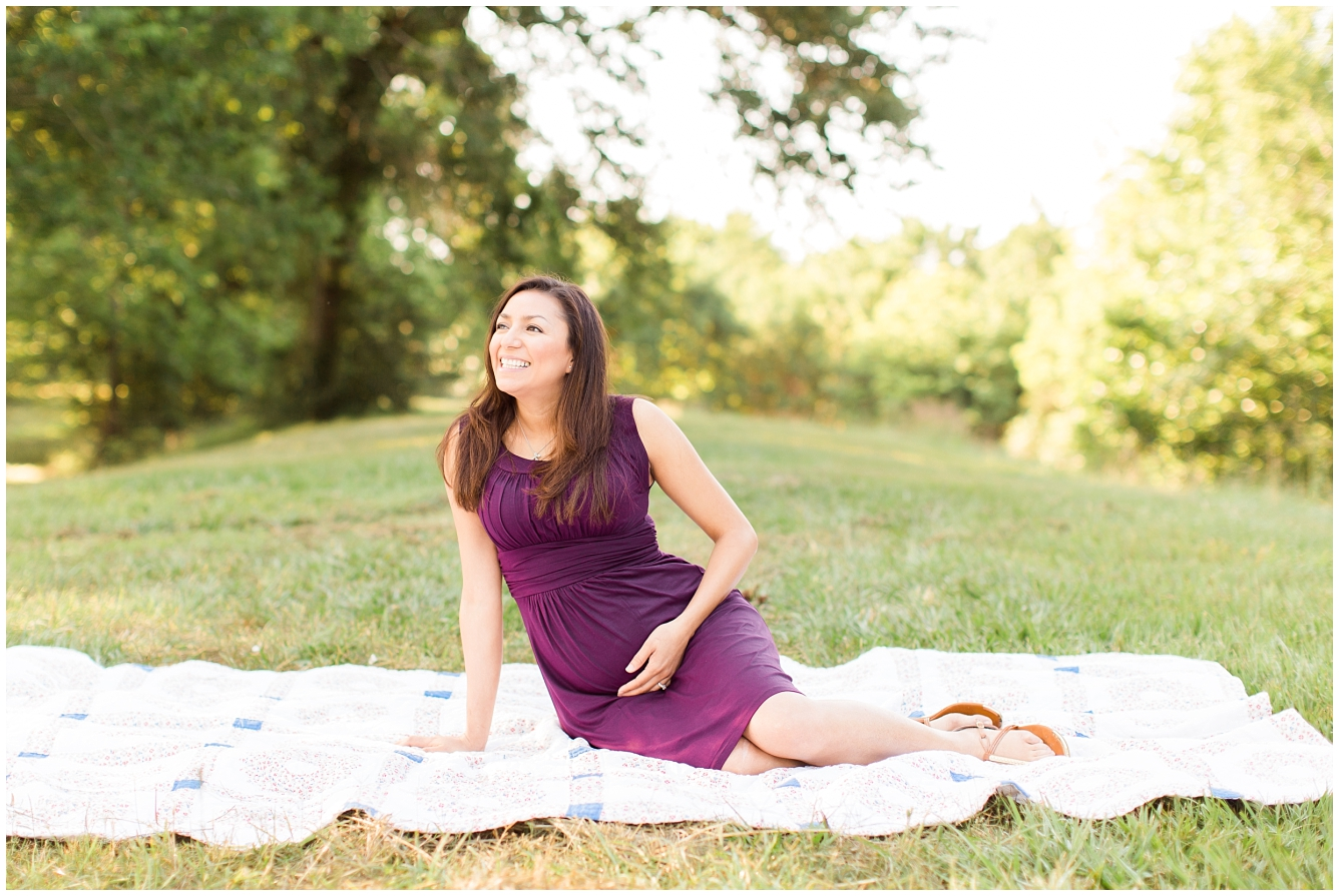 Katy TX Outdoor Maternity Session_12