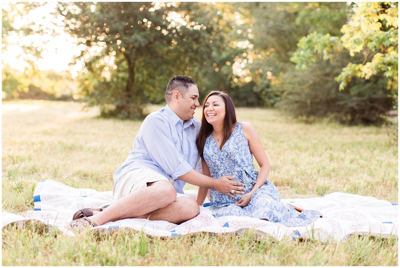 Katy TX Outdoor Maternity Session_14
